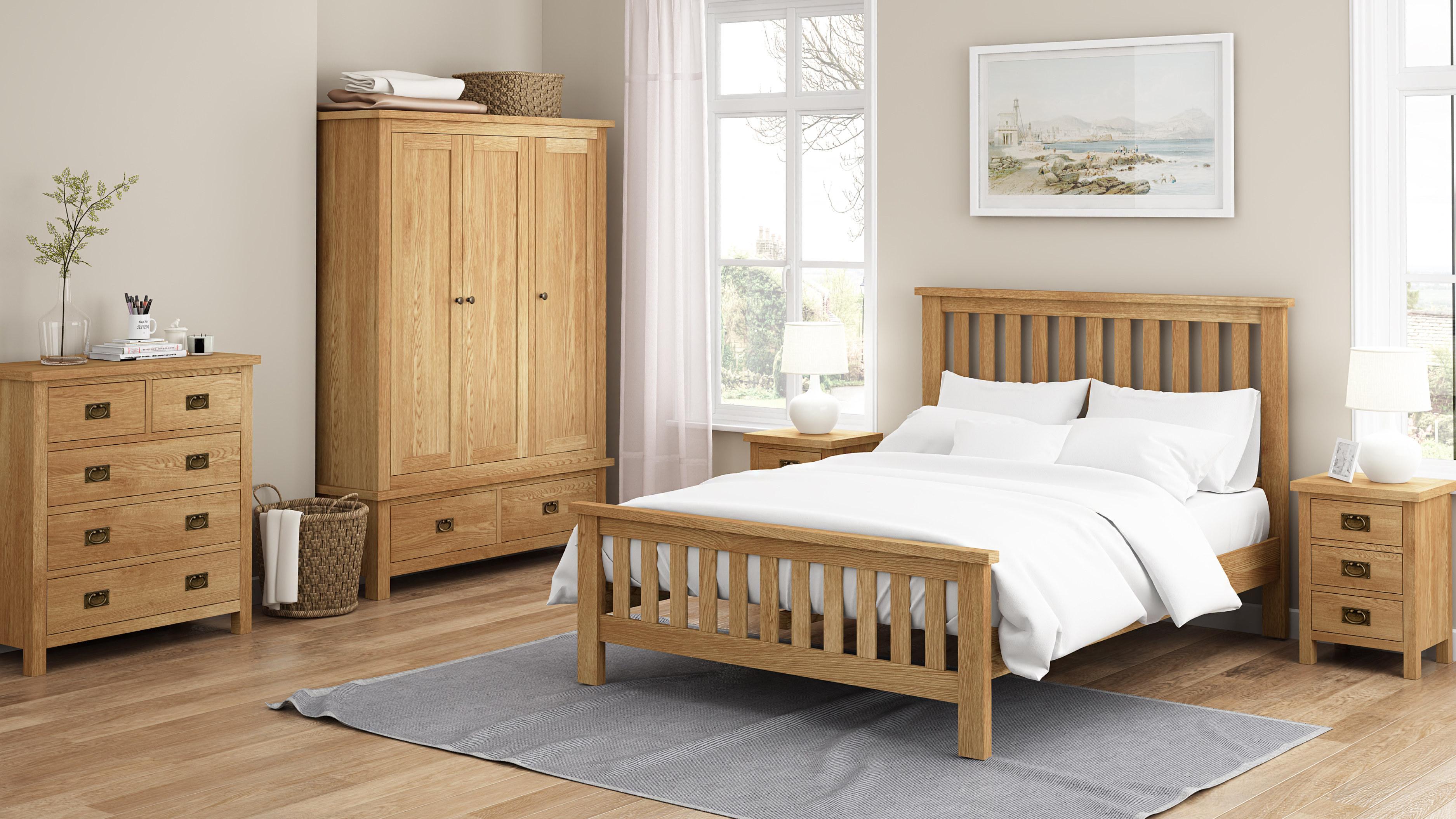 Rustique Home London Lite Rustic Oak Oak Collection
