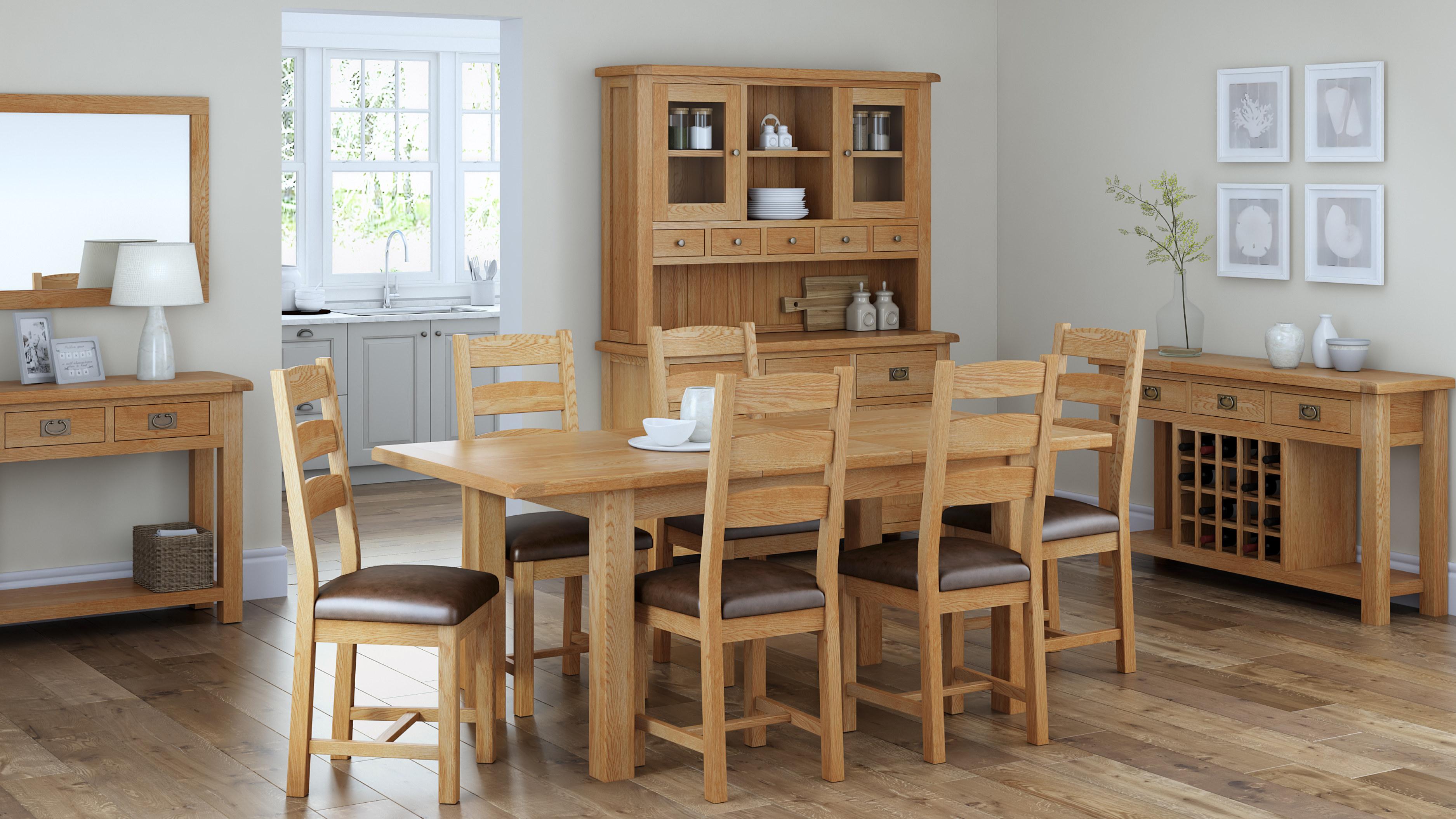 Rustique Home London Rustic Oak Collection