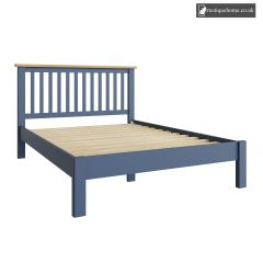 Chelsea Blue Double 4ft 6in Bed