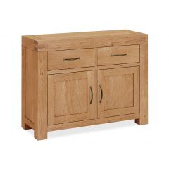 Roma Small Sideboard Natural Oak Hard waxed finished
